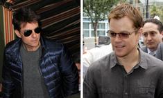 Том Круз отшлепал Мэтта Деймона на закрытой вечеринке в Лондоне