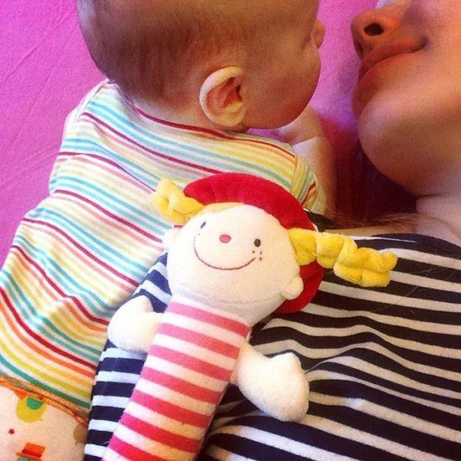 Зоя Бербер с дочкой