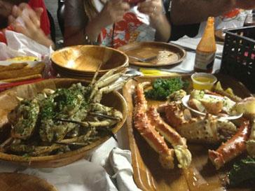 Кристина Орбакайте предпочитает морепродукты