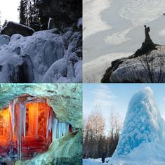Картинки которые можно увидеть только зимой