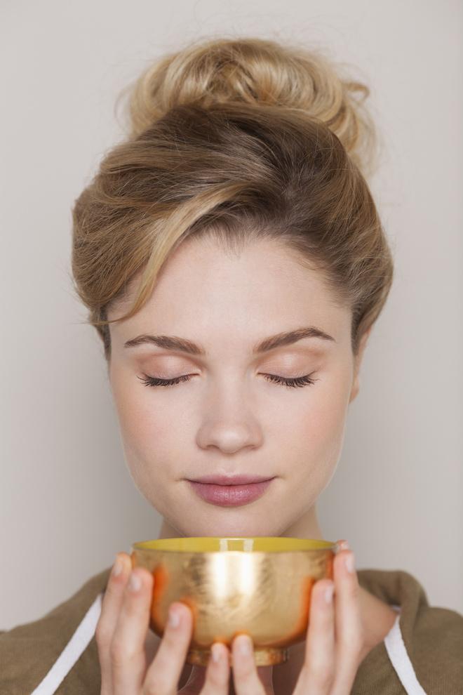 Витамины в зеленом чае сохраняются в максимальном количестве