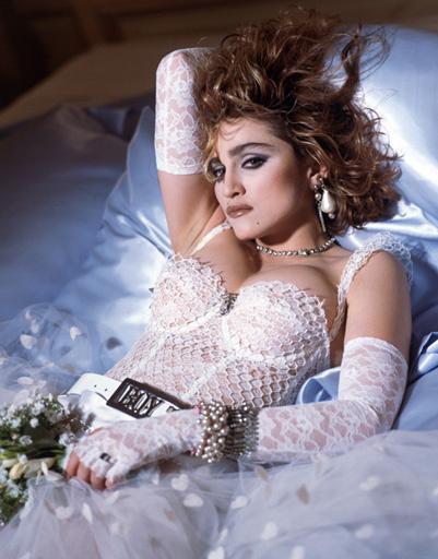 Откровенные наряды - визитная карточка Мадонны