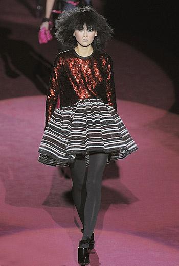 Показ коллекции Marc Jacobs осень-зима 09/10.