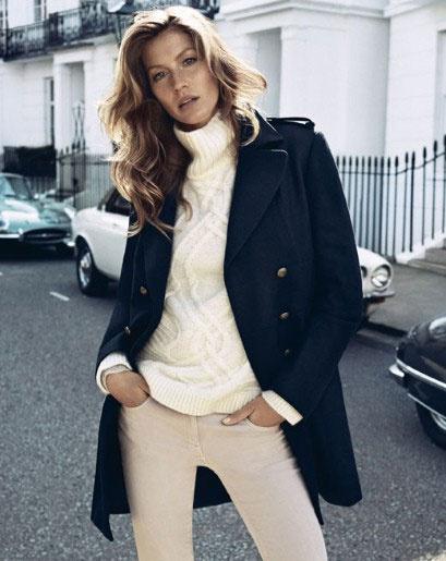 Жизель Бундхен в рекламе H&M осень-зима 2013/14