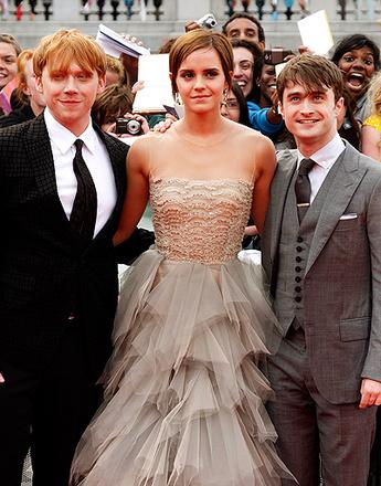 Премьера «Гарри Поттер и Дары смерти: Часть 2» в Лондоне.