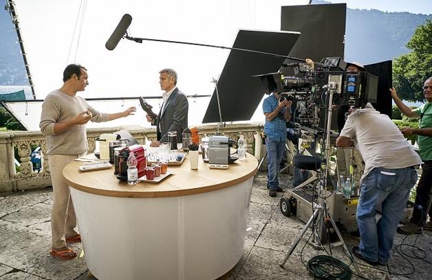 джордж клуни снялся в рекламной кампании nespresso
