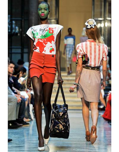 Неделя моды в Лондоне: Vivienne Westwood Red Label, весна-лето 2013