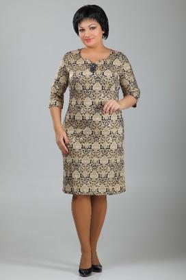 Платье, платье-футляр, Almond