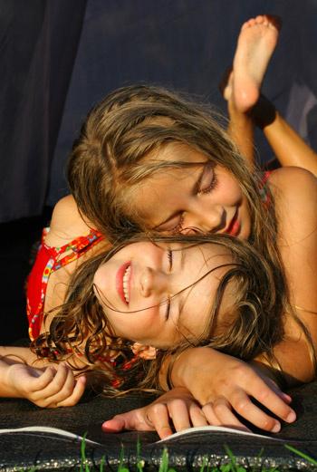 дети в детских лагерях