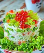 Топ-60 оригинальных новогодних салатов