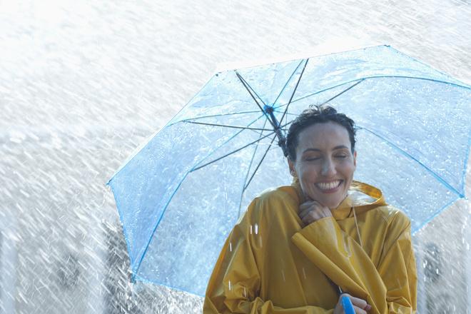 как сушить зонт по этикету
