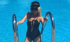 Яна Рудковская выбрала неудачный купальник