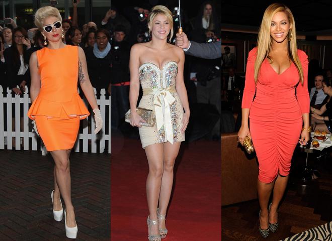 Гага, Бейонсе и Шакира - самые влиятельные в мире