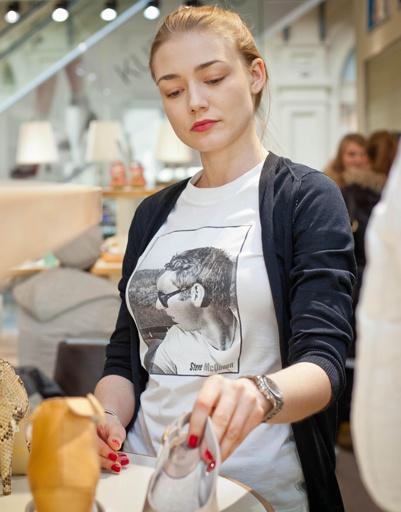Оксана Акиньшина на презентации коллекции весна-лето 2012 UGG Australia