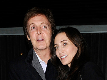Пол Маккартни (Paul McCartney) и Нэнси Шевел (Nancy Shevel) признались, что очень счастливы