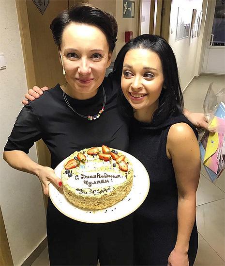 Чулпан Хаматова отметила день рождения в Екатеринбурге, фото