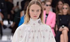 В Париже прошел показ Dior весна-2015