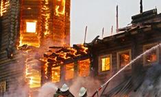 За пожар в центре Грабаря ответят три человка