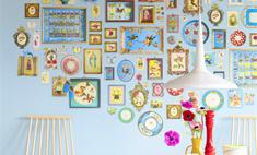 15 способов стильно развесить семейные фотографии
