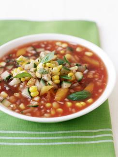 Мексиканский холодный суп