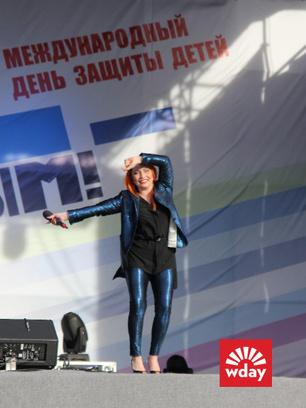 Благотворительная акция «Первого канала» «Стань первым» в Туле, Анастасия Спиридонова