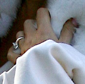 Обручальное кольцо Джери Холлиуэл стоит 220 тысяч