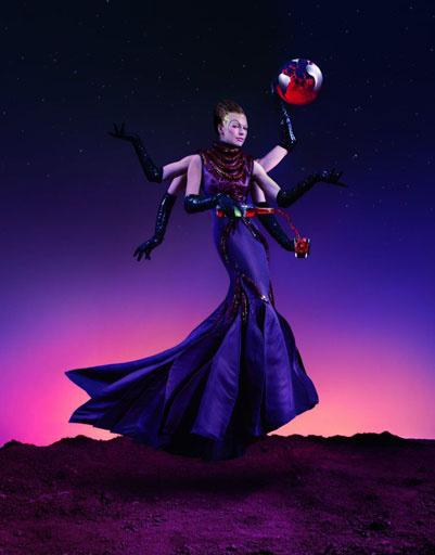 Мила Йовович (Milla Jovovich), календарь Campari на 2012 год