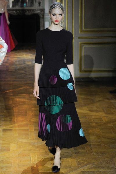 Показ Ulyana Sergeenko на Неделе высокой моды | галерея [1] фото [2]