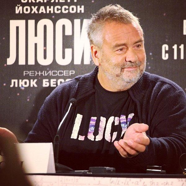 Люк Бессон в Москве