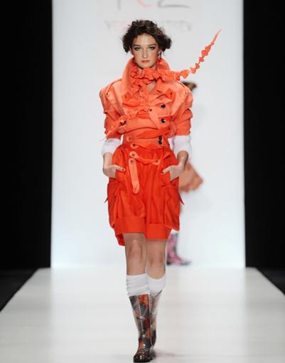 Mercedes-Benz Fashion Week: YeZ by YEGORZAITSEV, весна-2012