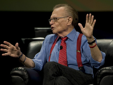 Ларри Кинг (Larry King) выйдет на сцену