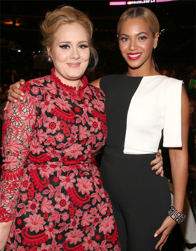 Бейонсе (Beyonce) и Адель (Adele)