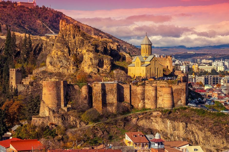 2. Тбилиси, Крепость Нарикала