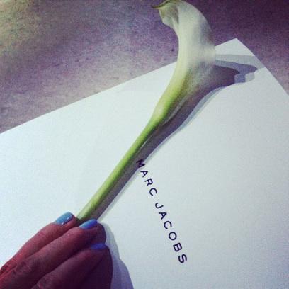 Приглашение на показ Marc Jacobs осень-зима 2014
