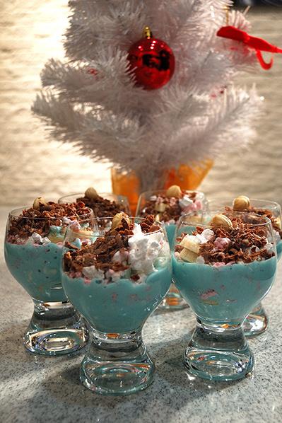 Волшебный десерт на скорую руку