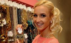 Ольга Бузова открыла в Петербурге магазин бижутерии