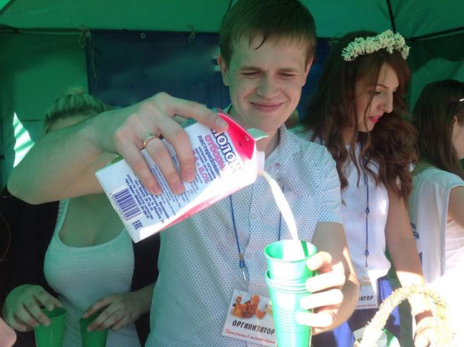 День Молока в Волгограде: фоторепортаж с праздника июнь 2016