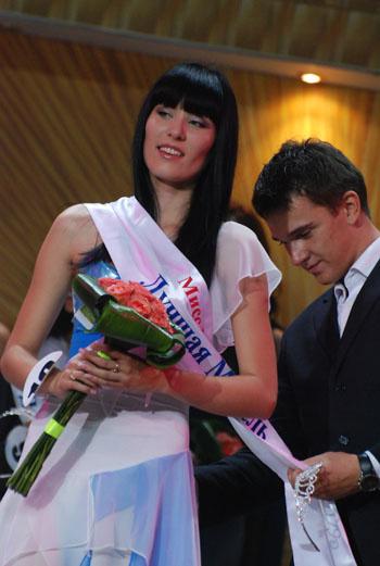 Анастасия Молекова, участница конкурса «Мисс Москва-2009»