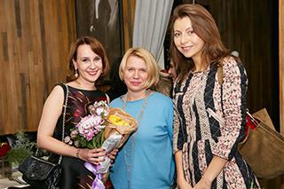 Вера Колгушкина, Динара Иртуганова, Екатерина Павленко