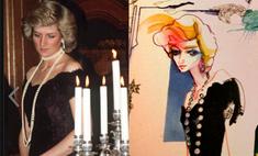 Выставка платьев принцессы Дианы откроется в Лондоне