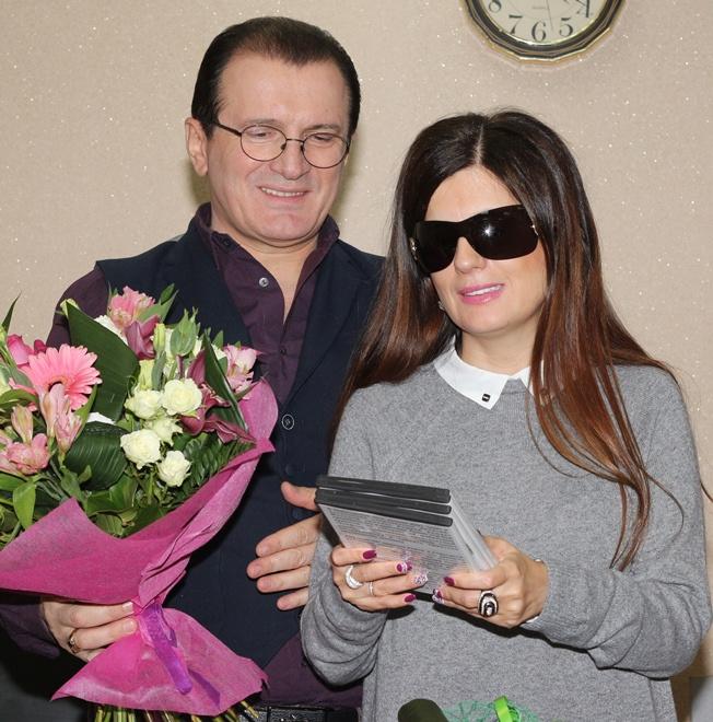 Диана Гурцкая с братом Робертом