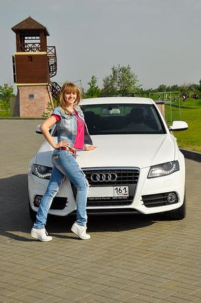 Фото девушек за рулем: автоледи Ростова