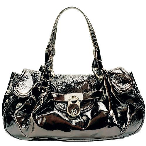 Кожаная сумка, Moschino.