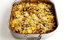 Картофельная запеканка с грибами: рецепт
