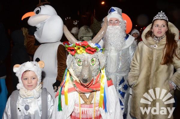 Волгоград, 3 января, Парад Дед Морозов