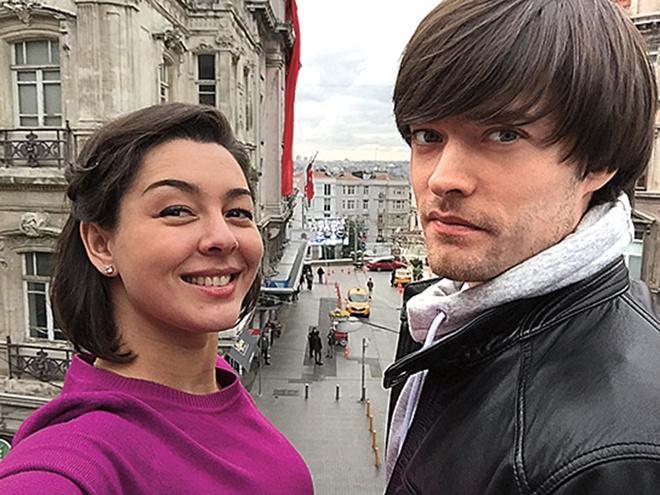 Марина Кравец с мужем фото