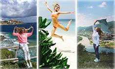 Майские каникулы: Ходченкова – по горам, Барановская – к слонам