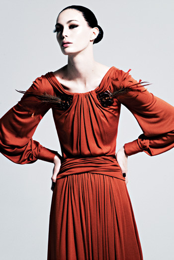 Платье из джерси, Carolina Herrera