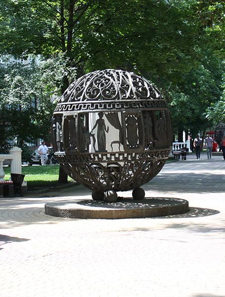 фото Ростова, улица Пушкинская, пушкинские шары