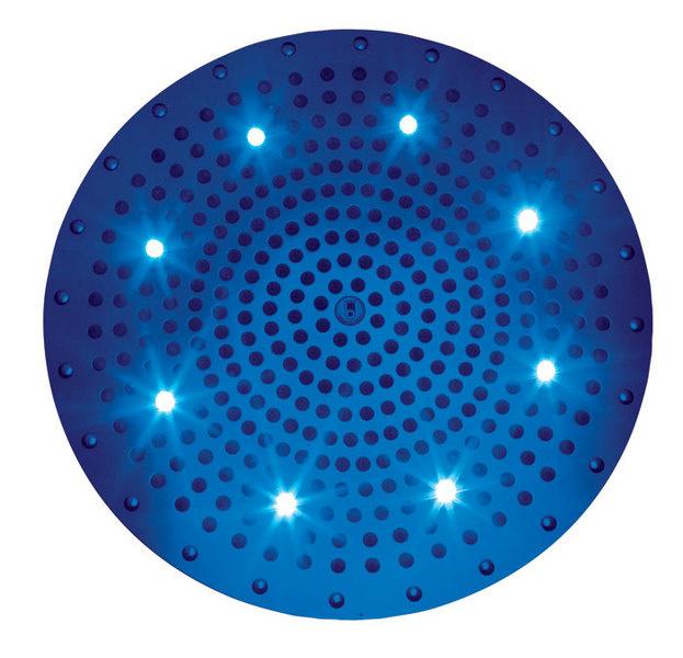 Душевая лейка с подсветкой, IB Rubinetterie, www.ibrubinitterie.it, салон Tendenza.
